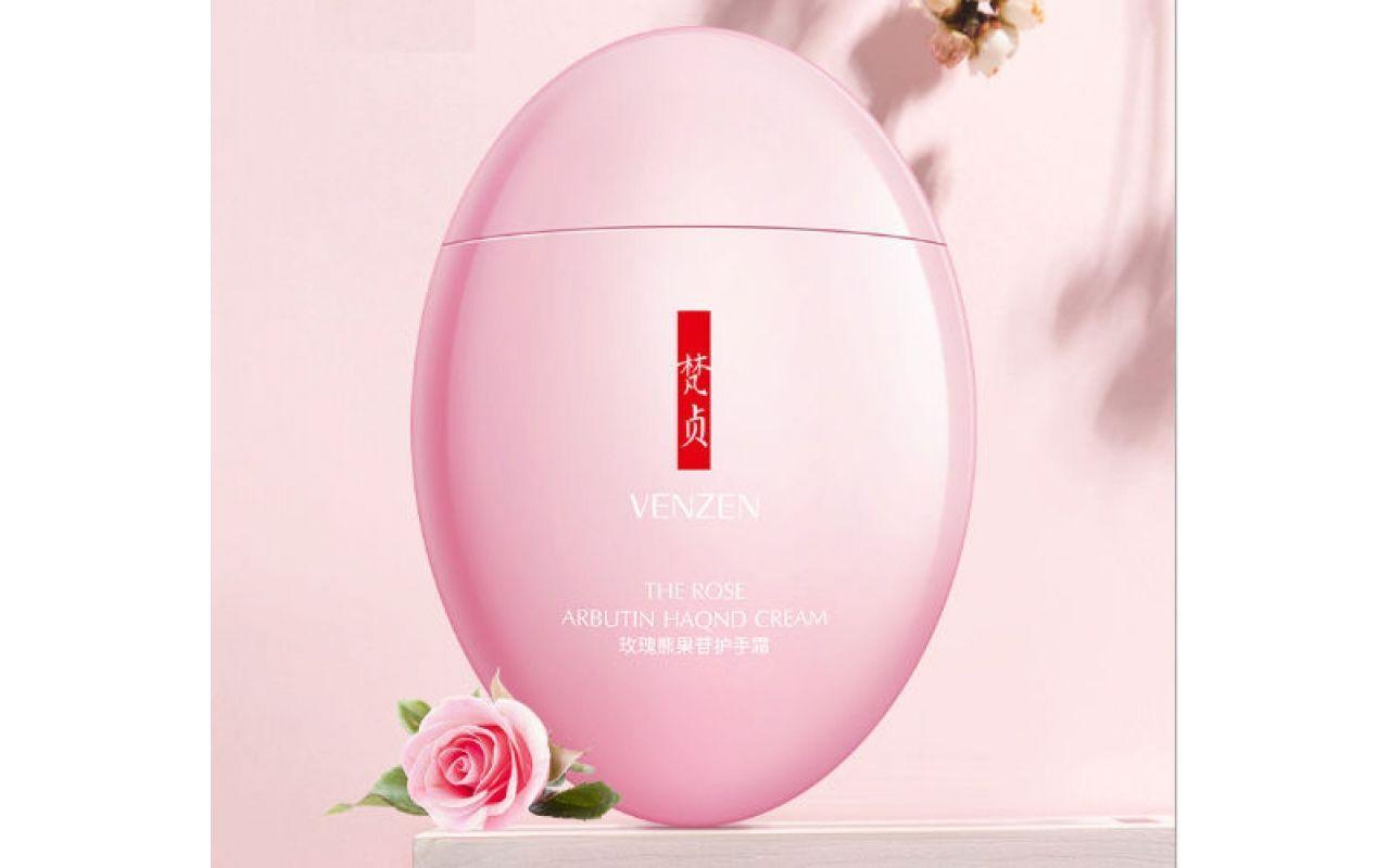 VENZEN The Rose Arbutin Hand Cream Крем для рук с экстрактом розы, 60г