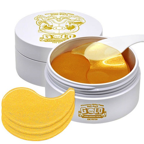 Elizavecca Hell-Pore Gold Hyaluronic Acid Eye Patch Патчи гидрогелевые (60 пар)