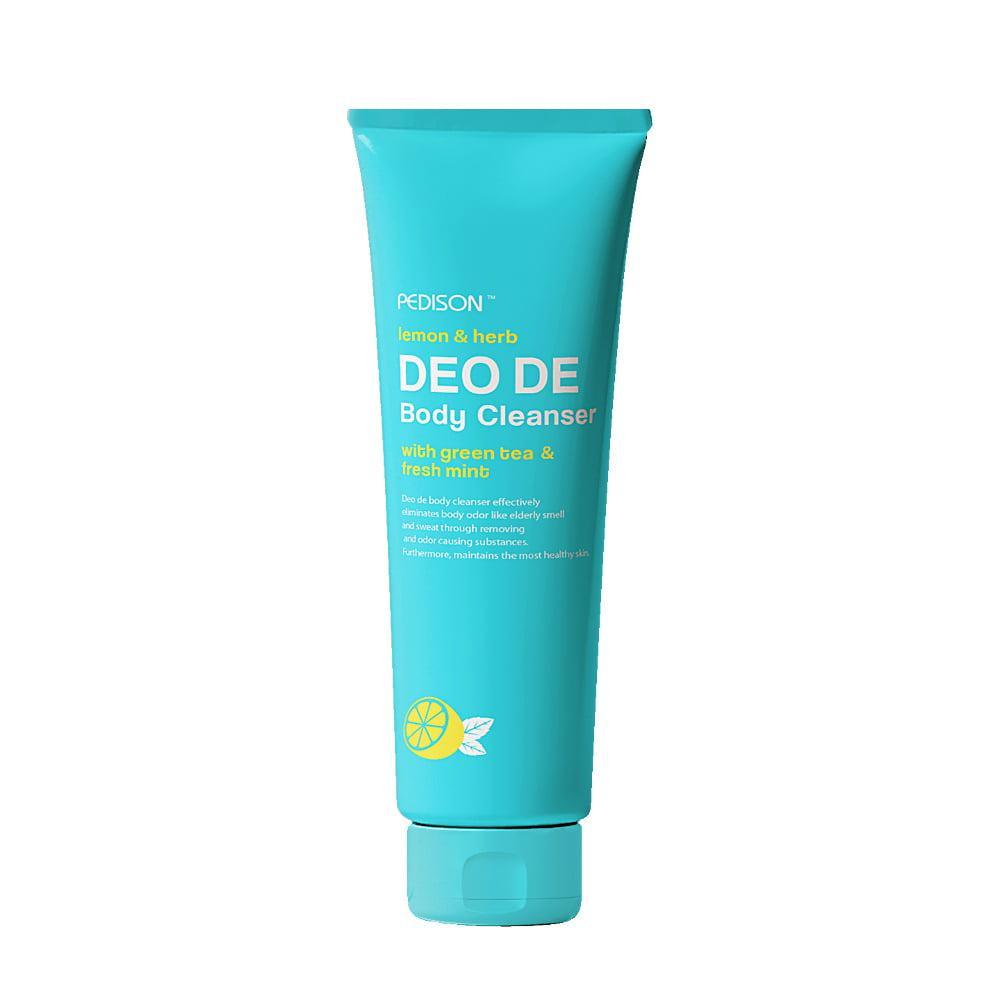 PEDISON Deo De Body Cleanser Гель для душа лимон и мята, 100мл