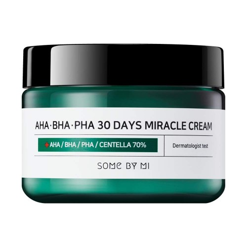 Some By Mi AHA-BHA-PHA 30 Days Miracle Cream Восстанавливающий крем для проблемной кожи, 60мл