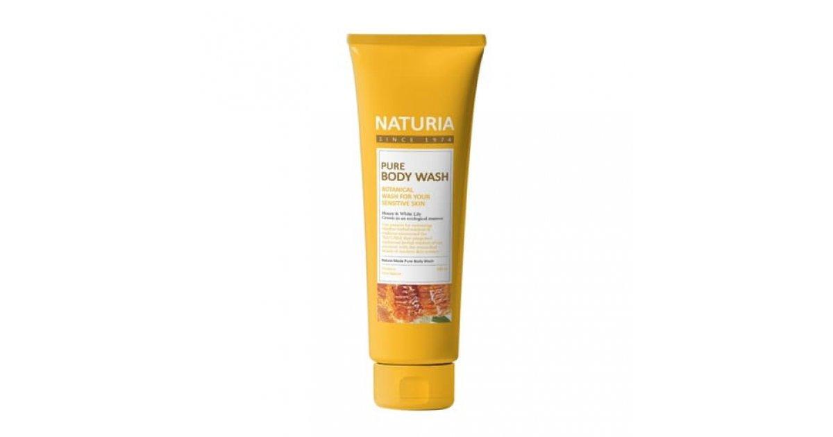 Naturia Pure Body Wash Гель для душа Мей и Лилия 100мл