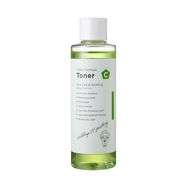 VILLAGE 11 FACTORY Formula Toner C Skin Успокаивающий тонер, 250мл