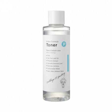 VILLAGE 11 FACTORY Formula Toner P Skin Очищающий тонер, 250мл